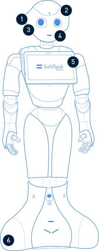 Pepper Programmable Robot Features