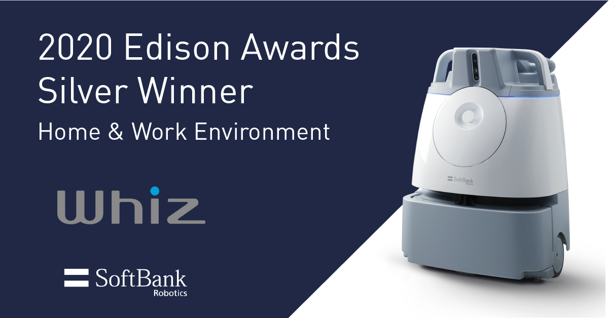 Whiz Named a Silver Winner of the 2020 Edison Awards