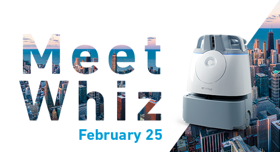 Meet Autonomous Cleaning Robot Whiz